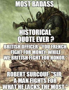 French corsair Robert Surcouf with british ship Kent in 1800 Great Quote Stupid Funny, Funny Jokes, Hilarious, Fuuny Memes, Funny Insults, Funny Tweets, Funny Stuff, Wisdom Quotes, Life Quotes