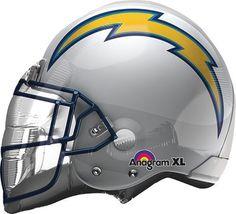 Helmet NFL San Diego Chargers Balloon