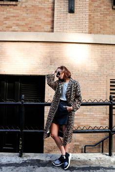 15 Formas De Usar Un Abrigo De Leopardo   Cut & Paste – Blog de Moda