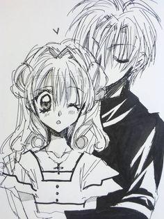 Arinacchi's drawing to celebrate her character's, Maron Kusakabe, birthday