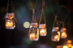 outdoor lanterns for a cute corner idea Garden Candles, Garden Lanterns, Hanging Lanterns, Enchanted Forest Decorations, Bakery Display, Moon Garden, Dream Garden, How To Make Lanterns, Small Garden Design