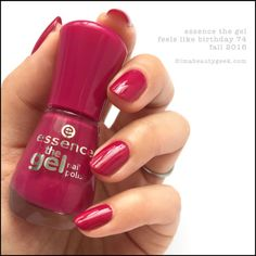 Essence Feels Like Birthday – Essence The Gel Nail Polish