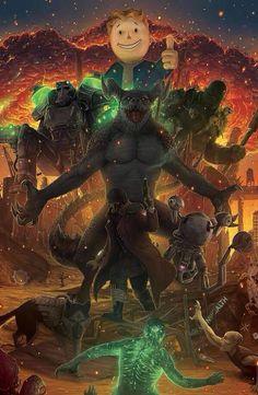 Fallout fanart by Marko Buza Fallout Funny, Fallout Fan Art, Fallout Concept Art, The Elder Scrolls, Fallout New Vegas, Fallout Wallpaper, Zombie Wallpaper, Fallout Tattoo, Apocalypse Art