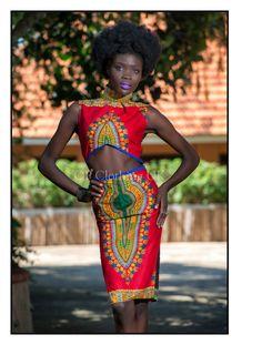 Dashiki afrikanischen print Kleid afrikanische von opclothinguk