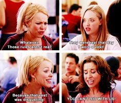 Happy 10 Year Anniversary Mean Girls! Thanks for all these important fashion lessons