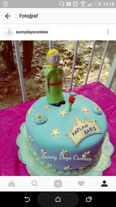 Küçük prens pasta, little prince, le petit prince cake.