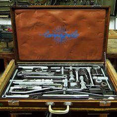 Campagnolo frame builder tool kit