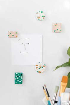 Terrazzo Attraction: Super-Easy DIY Magnet Tutorial — Apartment Therapy Tutorials