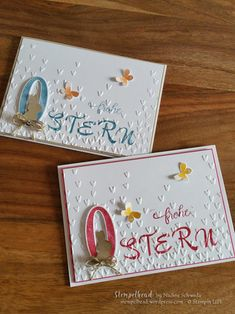 Frohe Ostern mit dem Brushwork Alphabet Easter card with Stampin 'UP! Brushwork Alphabet, So Many Years, Garden in Bloom, … Stampin Up Ostern, Easy Crafts To Sell, Wrapping Paper Crafts, Easter Pictures, Stamping Up Cards, Card Making Inspiration, Easter Crafts, Easter Ideas, Greeting Cards Handmade