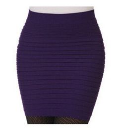 15 Colors Short Mini Jupe Bandage Slim Bodycon Fashion Skirts with High Waist