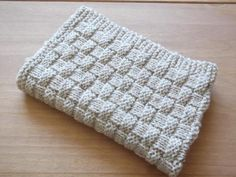 Quick and Easy Basket Weave Baby Blanket | Craftsy