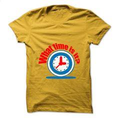 Time T Shirt, Hoodie, Sweatshirts - custom sweatshirts #tee #T-Shirts