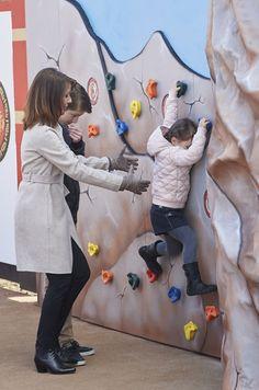 Les princesses Marie et Athéna et le prince Félix de Danemark au Legoland à Billund le 19 mars 2016