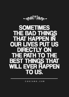The path ...