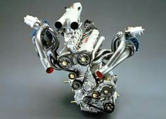 Lancia-Abarth 1.759 c. Triflux engine