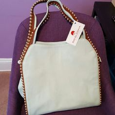 NWT BIG BUDDHA GRAYSON SATCHEL BAG Brand new. Mint condition. Big Buddha Bags Satchels