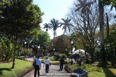 Parque Central, Alajuela---I love that every town has a central park where the locals gather!