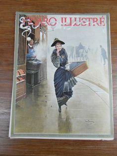 Revue LE FIGARO ILLUSTRE / No 23 Fevrier 1892 Jean Beraud Mademoiselle CERNY