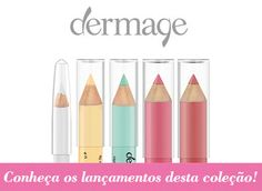 Novidades Dermage! Conheça os novos lápis de maquiagem da marca.