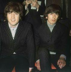 Beatles - John and George - 1965