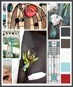 Lizzy B Loves visual + sparkle = inspiration : sedona/frank lloyd wright (click on image to view in full) #wedding_inspiration #wedding_color_palette #color_palette_inspiration