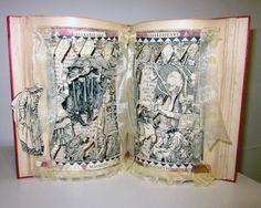 Altered book Shakespeare Macbeth 1909 by Raidersofthelostart