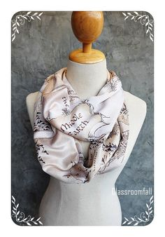 Map of Middle-Earth The Lord of the Rings Scarf by Classroomfall