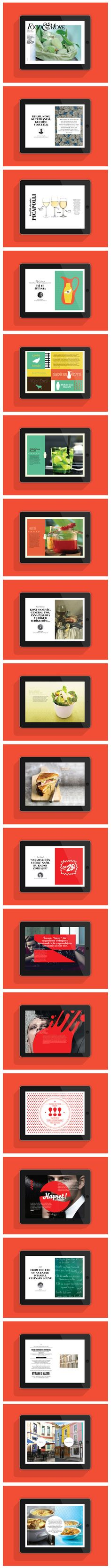 Food & More iPad magazine