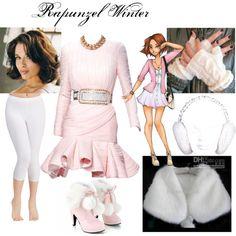 """Rapunzel Winter"" by mandilynn726 on Polyvore"