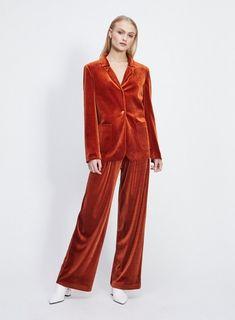 1e00ebc7 19 Best Velvet trousers images | Velvet, Pants, Velvet pants