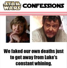 Star Wars Confessions :)
