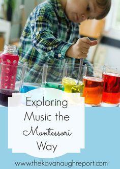Montessori Music: DIY Xylophone with Printable