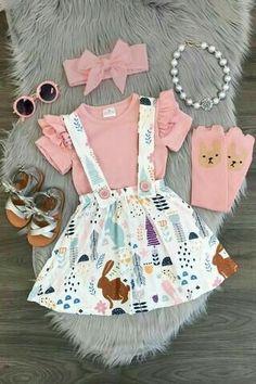 Infant Newborn Baby Girl T-shirt Top+Dress Outfit Clothes Toddler Casual Dresses Neugeborenes Baby T-Shirt Top + Kleid Outfit Kleidung Kleinkind Casual Kleider Little Girl Outfits, Little Girl Fashion, Toddler Fashion, Baby Outfits, Toddler Outfits, Kids Fashion, Fashion Clothes, Trendy Fashion, Summer Outfits
