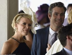 Megyn Kelly and her husband Douglas Brunt were also at the Derby and were seen mingling wi...