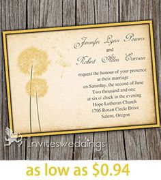 As we all know, spring is a glorious time of year for a wedding due to its warming temperatures and blossoming flowers. However, it's no surprise that choosing wedding colors is one of the most challenging choices of . Yellow Wedding Invitations, Spring Wedding Colors, Ideas, Thoughts