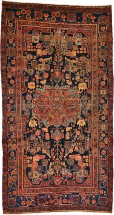 Antique Circa Hand Knotted Area Rug Oriental Carpet x Iranian Rugs, Iranian Art, Patio Rugs, Outdoor Rugs, Interior Rugs, Interior Design, Modern Carpet, Black Carpet, Carpet Colors