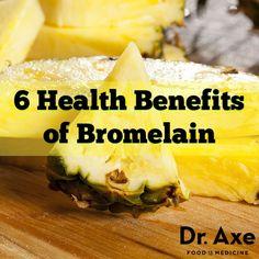 6 Bromelain Benefits, Side Effects and Dosage - DrAxe.com http://www.draxe.com #health #benefits #pineapple #inflammation #bromelain