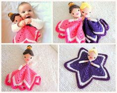 Disney Princess Lovey Blanket Crochet Pattern