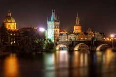 The city by night is absolutely marvelous! Walk along the river front and admire the illuminated buildings and, of course, walk the Charles Bridge when there is almost no one there