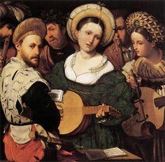 TICMUSart: The Concert - Callisto Piazza Da Lodi (1530) (I. M.)