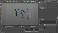 This is a brief overview of using Text splines to create parametric models in C4D.
