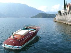 Italian Wooden Speedboat. Mahogany. This is a 1969 Riva Super Ariston, but I'd also take a Chris Craft.