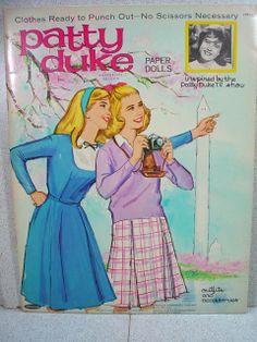 1965 Whitman Patty Duke Paper Dolls