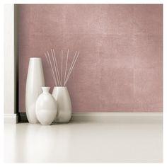 Devine Color Metallic Leaf Peel and Stick Wallpaper -Rose Gold : Target