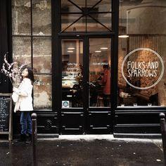 Folks & sparrows coffee time coffee shop names, cafe shop и Coffee Shop Names, Boutique San Francisco, Shop House Plans, Shop Plans, Shop Interior Design, Exterior Design, Café Restaurant, Decoration Ikea, Restaurants