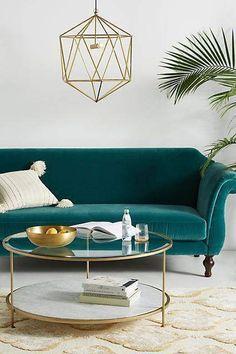 Anthropologie Milne Coffee Table | Scandinavian Interior Design | #scandinavian #interior