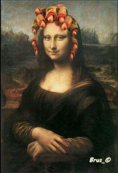 Mona Lisa Smile, Renaissance Artists, Italian Renaissance, Mona Friends, La Madone, Mona Lisa Parody, Many Faces, Birthday Photos, Pic Monkey