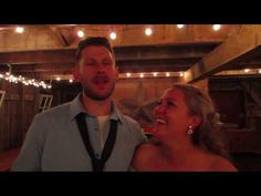 Bryan and Alyssa's wedding at Barn of Allen Acres, in Rock Falls, IL . Five-O DJ Entertainment provided Emcee and DJ Services for this Beautiful Ceremony and. Wedding Night, Wedding Ceremony, Reception, Entertainment Video, Newlyweds, Dj, Entertaining, Videos, Beautiful