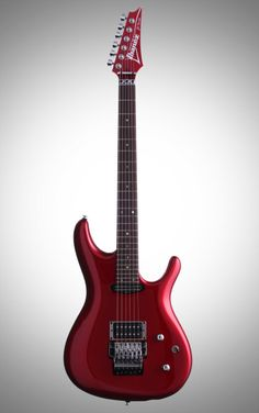 Ibanez JS24P Joe Satriani Premium Electric Guitar: Sporting a DiMarzio The Chopper neck pickup and Mo' Joe bridge pickup devised by Satch himself, this signature model Ibanez lives up to its namesake.