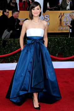 Marion Cotillard and her amazing Dior dress - SAG Gala 2013